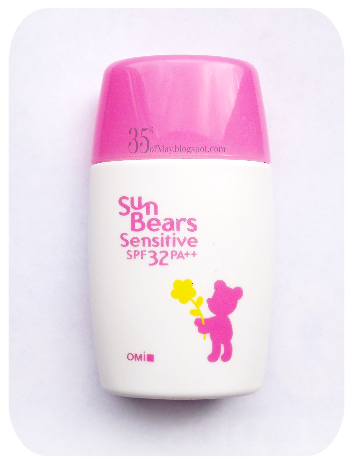 Sun bears Sensitive SPF35 PA++