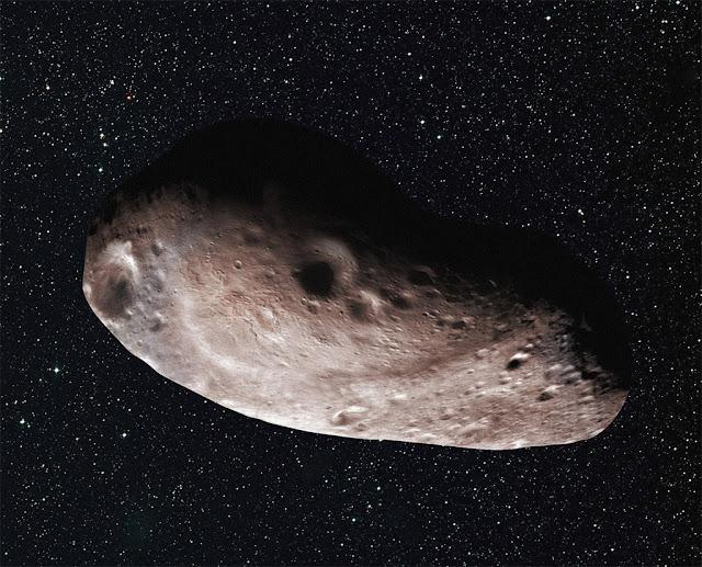Ilustração artística do objeto 2014 MU69 - NASA