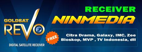 Receiver Rekomendasi Khusus Ninmedia