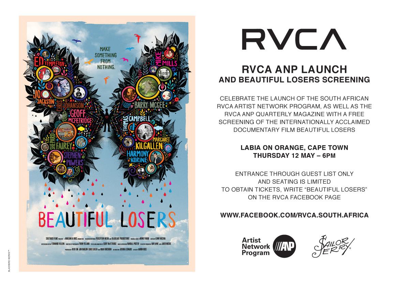 Captain Kais World: RVCA Artist Network Program - South ...  Captain Kais Wo...