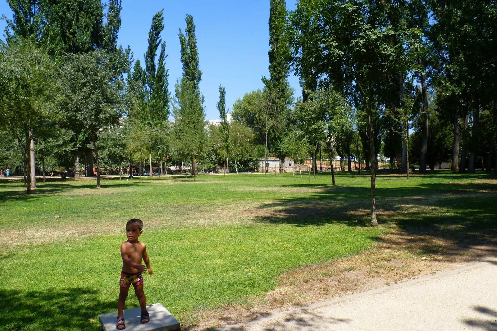 Parque de la Isla, Plasencia.