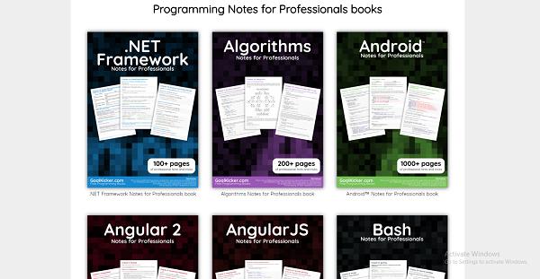موقع رائع لتحميل عشرات الكتب مجاناً في البرمجة، التصميم، الشبكات، الخوارزميات ...