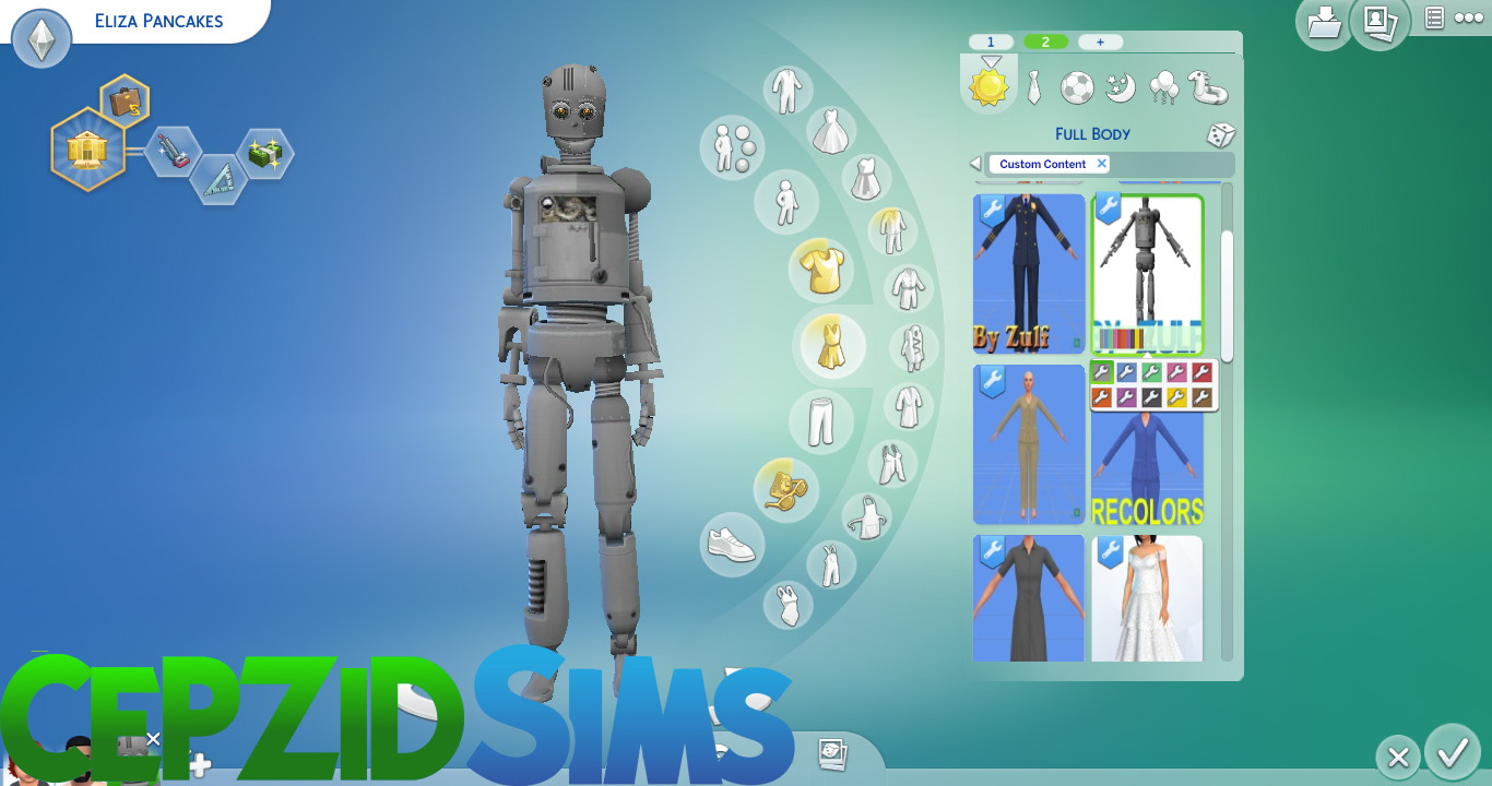 Cepzid Sims Studio (Maxis Match CC) | Sims 4 Studio