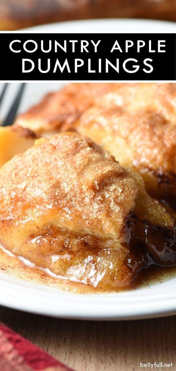 Easy Country Apple Dumplings