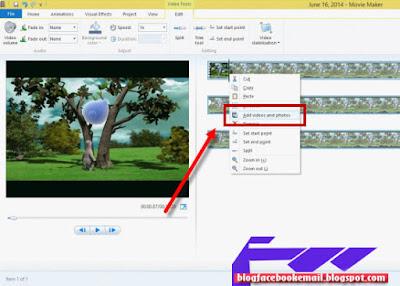 Video slideshow menyerupai sebuah pertunjukkan gambar yang berganti ganti dengan sendirinya  ( Tutorial Movie Maker )Cara Menggunakan Movie Maker di Windows 8
