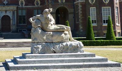 River God statue at Ham House, Richmond