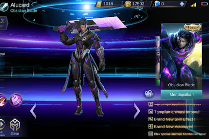 5 Skin Hero Fighter Terbaik di game Mobile Legends Bulan Febuari 2019