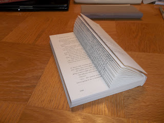 Tweak It Tuesday - Book Page Columns - book folding, old paper back book decor