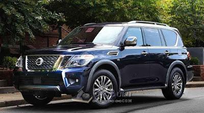 Salah satu Mobil SUV - Nissan Armada