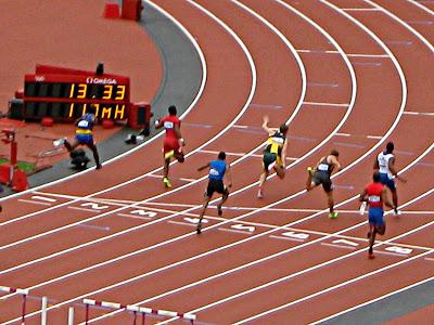 Running track at 2012 Olympics