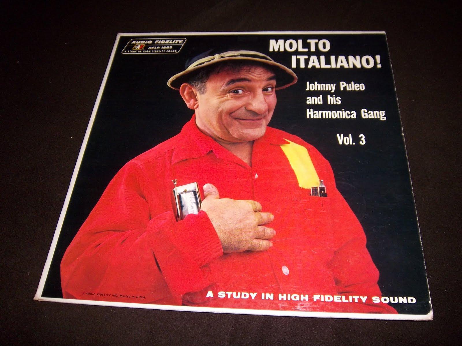 Hear Wax Johnny Puleo And His Harmonica Gang Molto