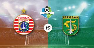 Laga Tunda Persija vs Persebaya Selasa 26 Juni 2018