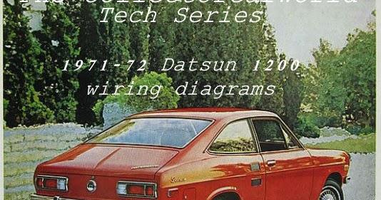 phscollectorcarworld: PHS Tech Series: 1971-72 Datsun 1200 ... on