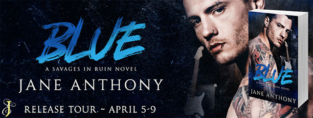 Release Tour with Blue by Jane Anthony