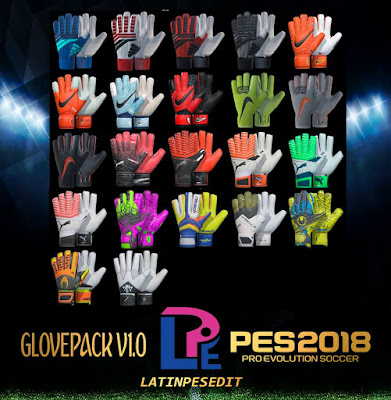 PES 2018 Glovepack v1 by LPE09