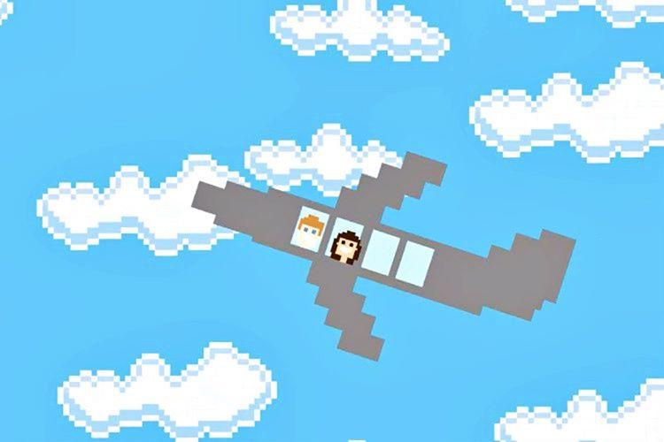 İnternete yüklenen ilk gif, bulutlu bir gökyüzünde uçan bir yolcu uçağına aitti.