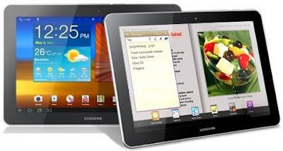 Samsung Galaxy Tab 10.1 750: Caractéristiques du Galaxy Tab 750