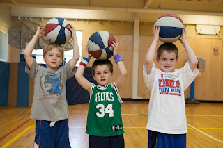 Join a Youth Basketball Team (ages 4-11) at the YMCA