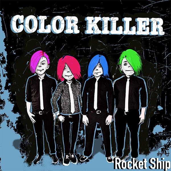 """Color Killer release video for """"Rocket Ship"""""""