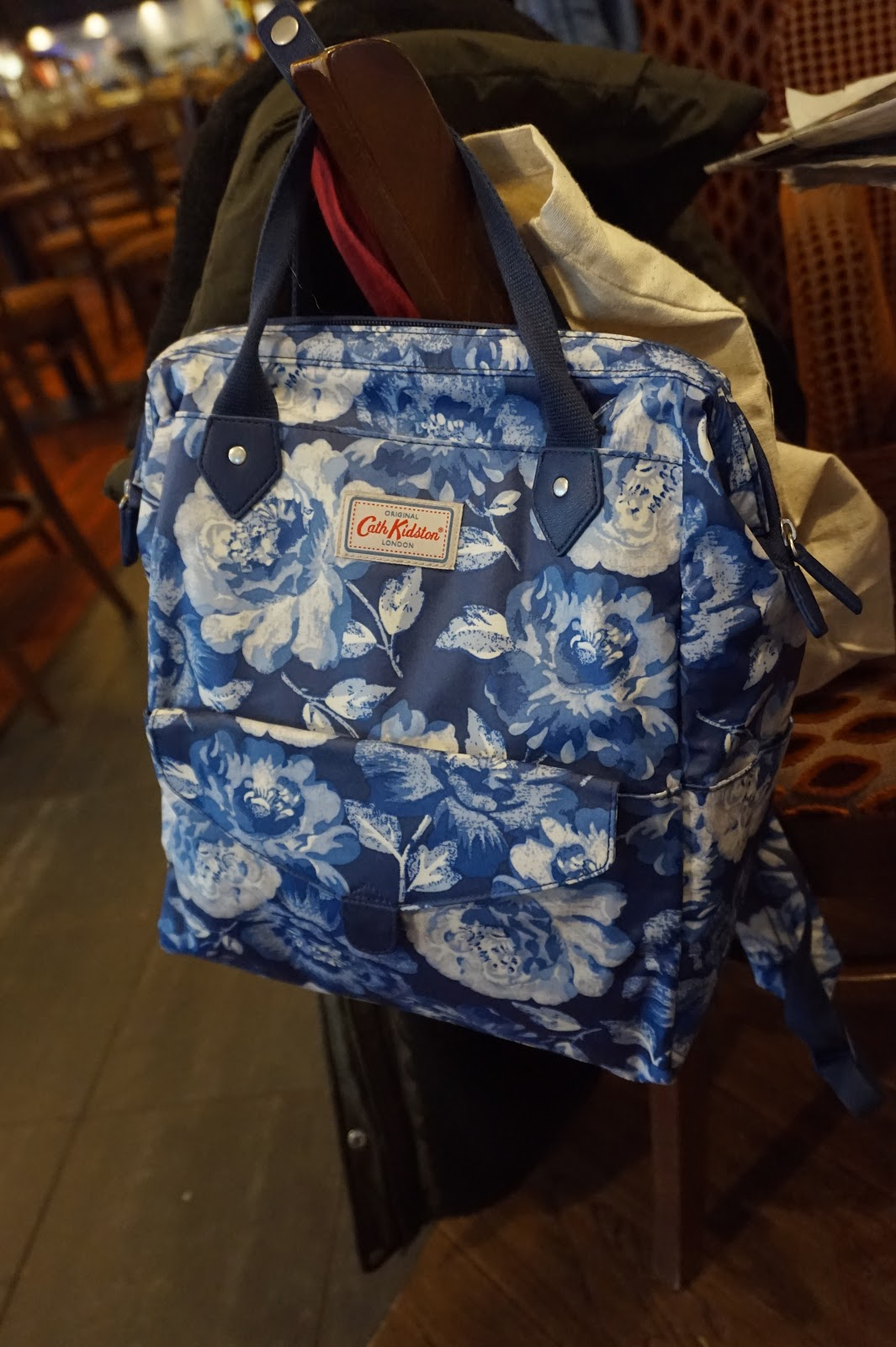 78545463831 Cath Kidston Peony Blossom Frame Backpack