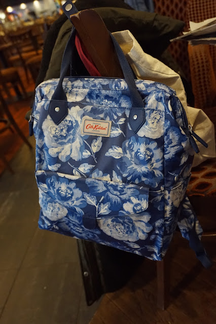 Cath Kidston  Peony Blossom Frame Backpack