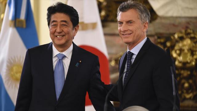 """Argentina y Japón acuerdan desarrollar una """"alianza estratégica"""""""