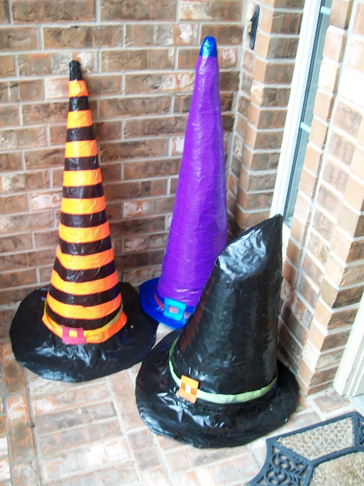 Halloween DIY  Spooky Giant Witch Hats  The Home Guru