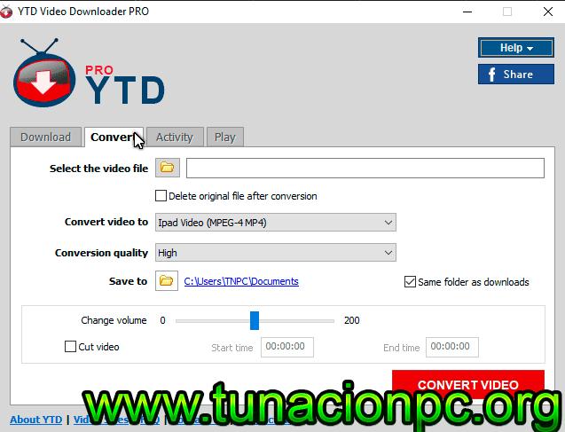YTD Video Downloader Pro full español con licencia
