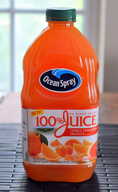 100% Juice Citrus Tangerine Orange from Ocean Spray | Taste As You Go