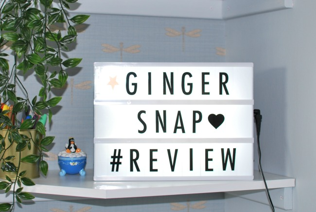 Gingersnap Cinematic A4 Light Box - Review
