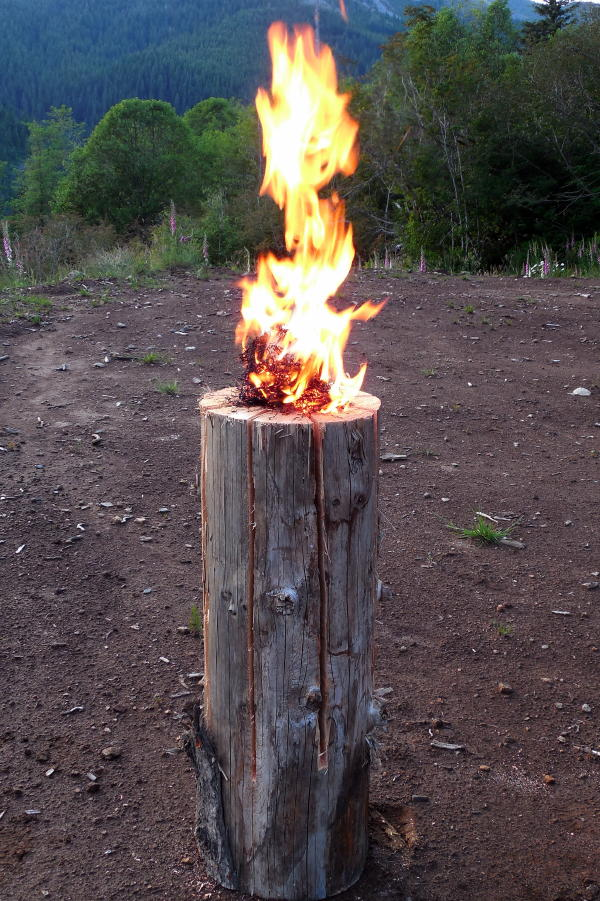 Off Grid Home Sweet Home Swedish Torch