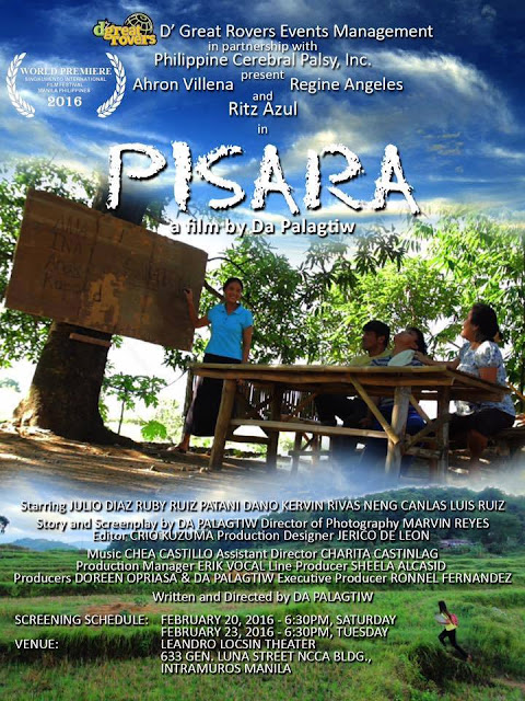 """PISARA (BlackBoard),"" directed by A Palagtiw"
