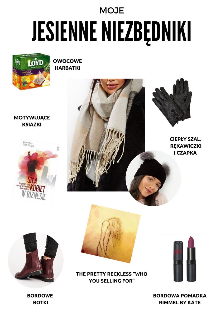 fall essentials, fall, autumn, jesień, jesienne niezbędniki, sposób na jesień, blog modowy, blog lifestylowy, lifestyle,