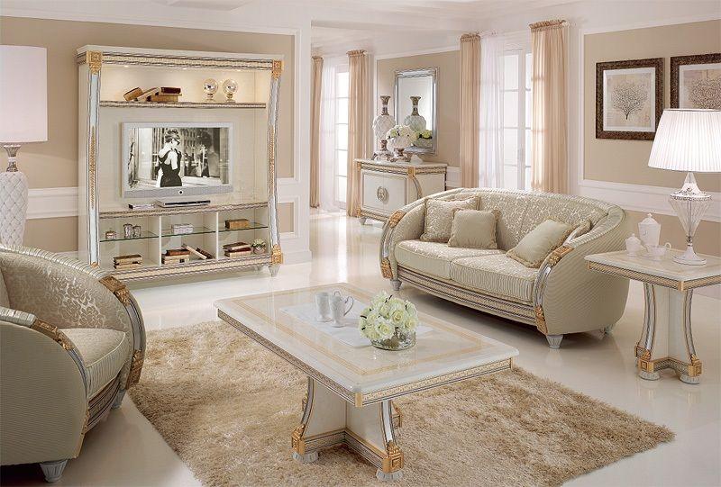 Salas en estilo cl sico salas con estilo for Sofas de estilo clasico