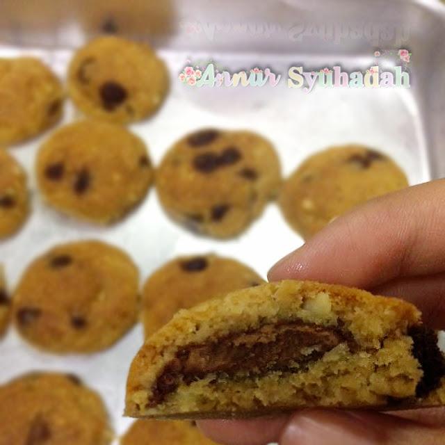 Resipi-Chocolate-Oat-Cookies-Kurang-Manis-yang-Paling-Sedap