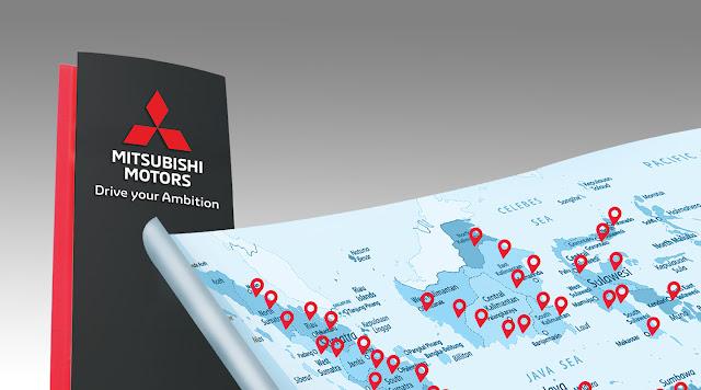 Peta Daftar Mitsubishi Tangerang