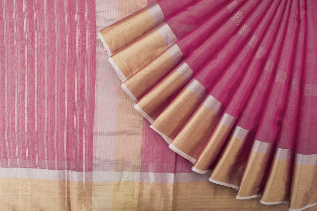 Tikli.in - Maheshwari sarees by Eco Loom