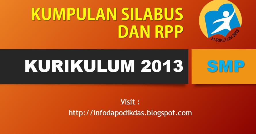 Download Silabus Dan Rpp Smp Kurikulum 2013 Kelas 7 8 9 Smp Negeri 1 Turi