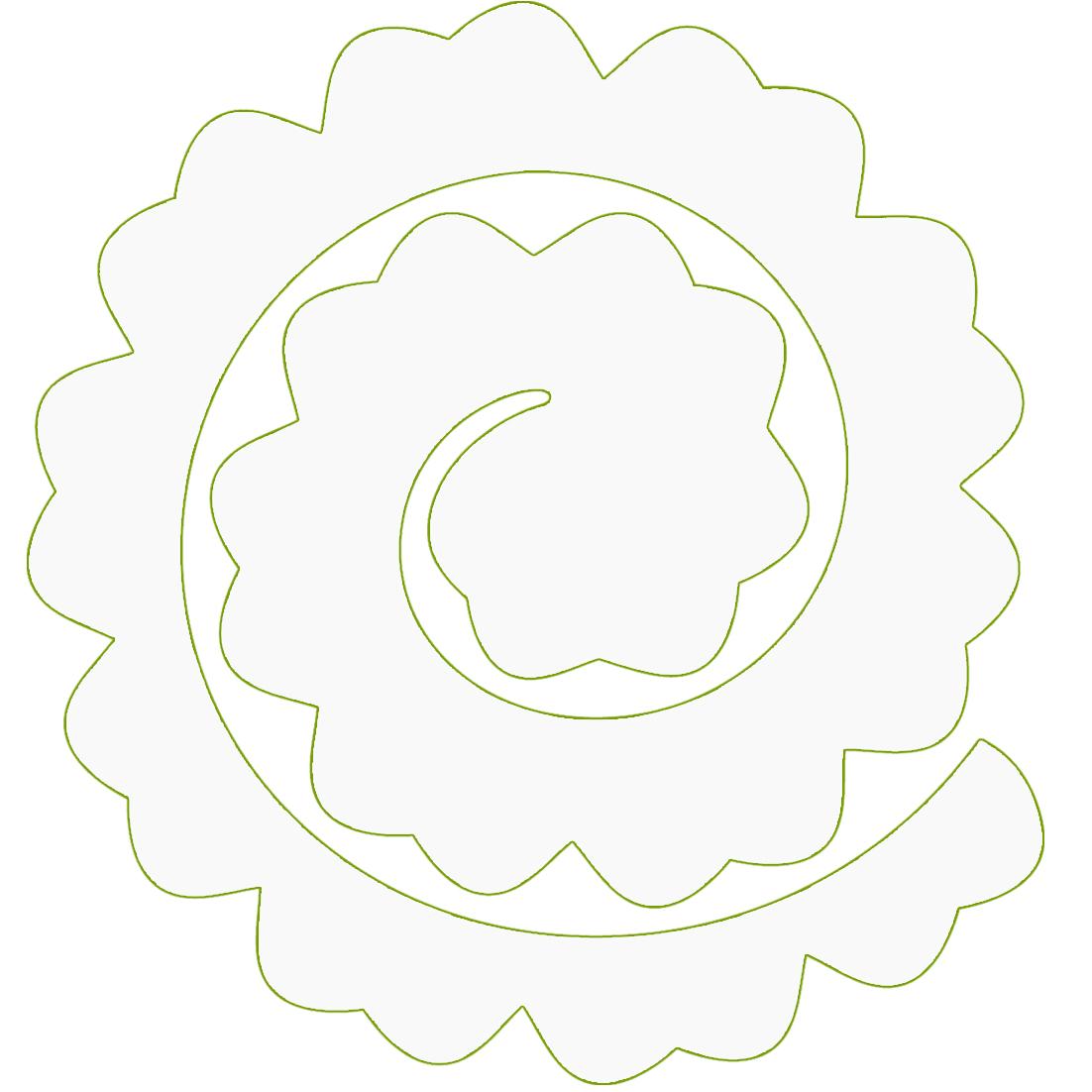 Силиконовый спонж для макияжа тонального крема - форма круглый