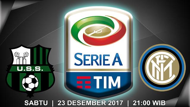 Sassuolo vs Inter Milan 23 Desember 2017