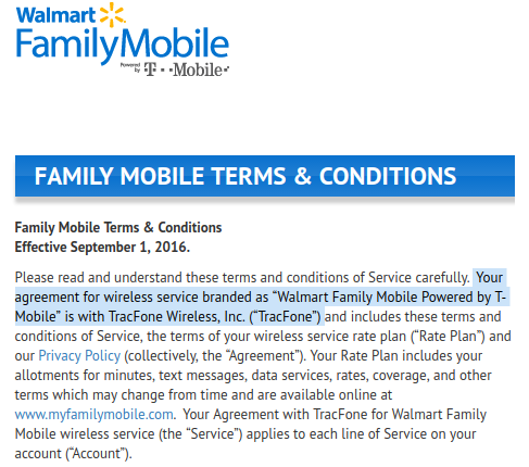 t mobile sells walmart family mobile to tracfone