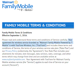 Family Mobile Terms & Conditions