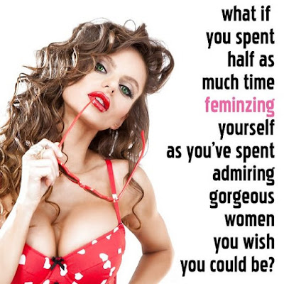Spend you time properly - Sissy TG Caption