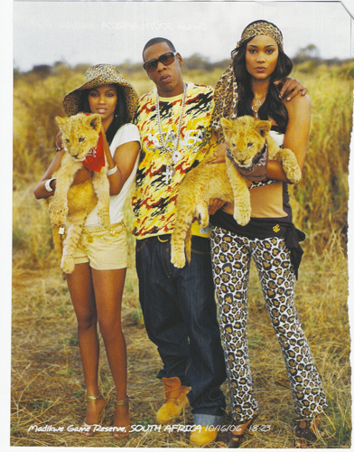 Images of Africa: Jay-Z Uses Stereotypes to Sell Rocawear