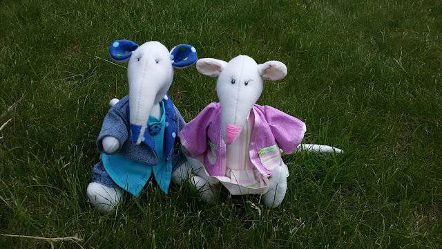 мягкая игрушка, ручная работа, крыс, из ткани, текстильная кукла