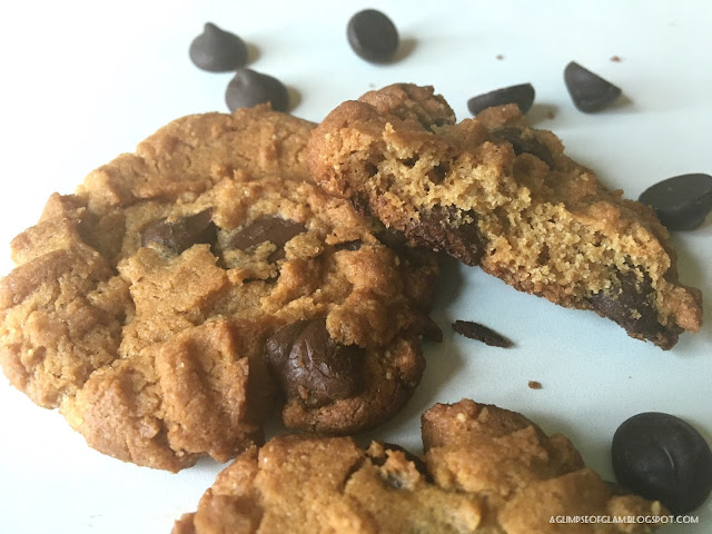 Four-Ingredient Flourless Peanut Butter Cookies - A Glimpse of Glam Andrea Tiffany