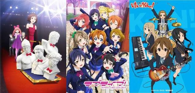 rekomendasi anime musik terbaik