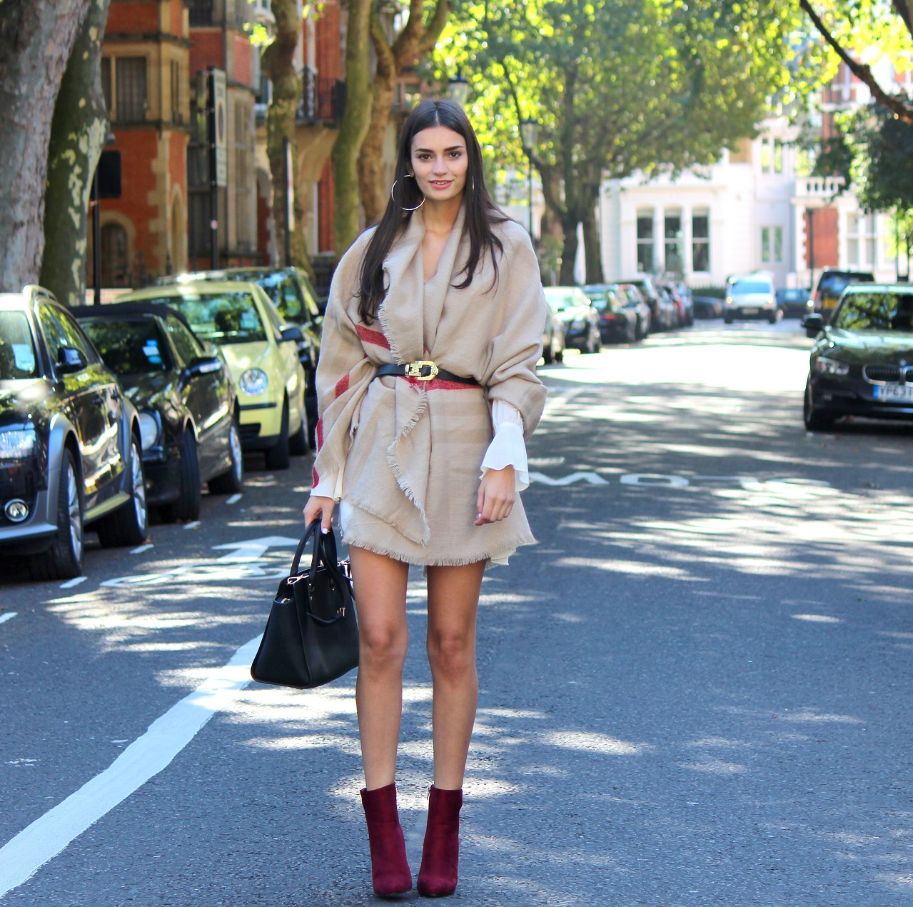 peexo fashion blogger layering blanket scarf