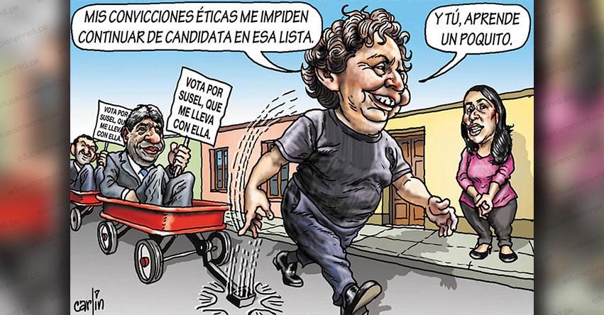 Carlincaturas Domingo 17 Noviembre 2019 - La República