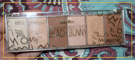 {Resenha} Paleta Pocket Beach Bunny - Ruby Rose | Uma Mente Inquieta